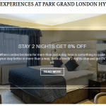 Making the Most of Your Stay: Special Offers at Park Grand Hyde Park