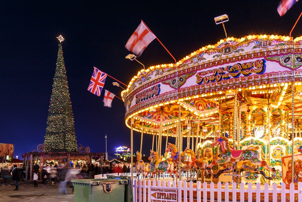 London At Christmas Time.Festive Folly Visit Hyde Park S Winter Wonderland This