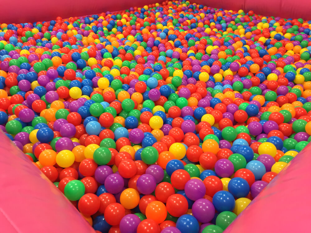 giant ball pits